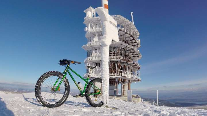 Reached the top of the Chasseral.