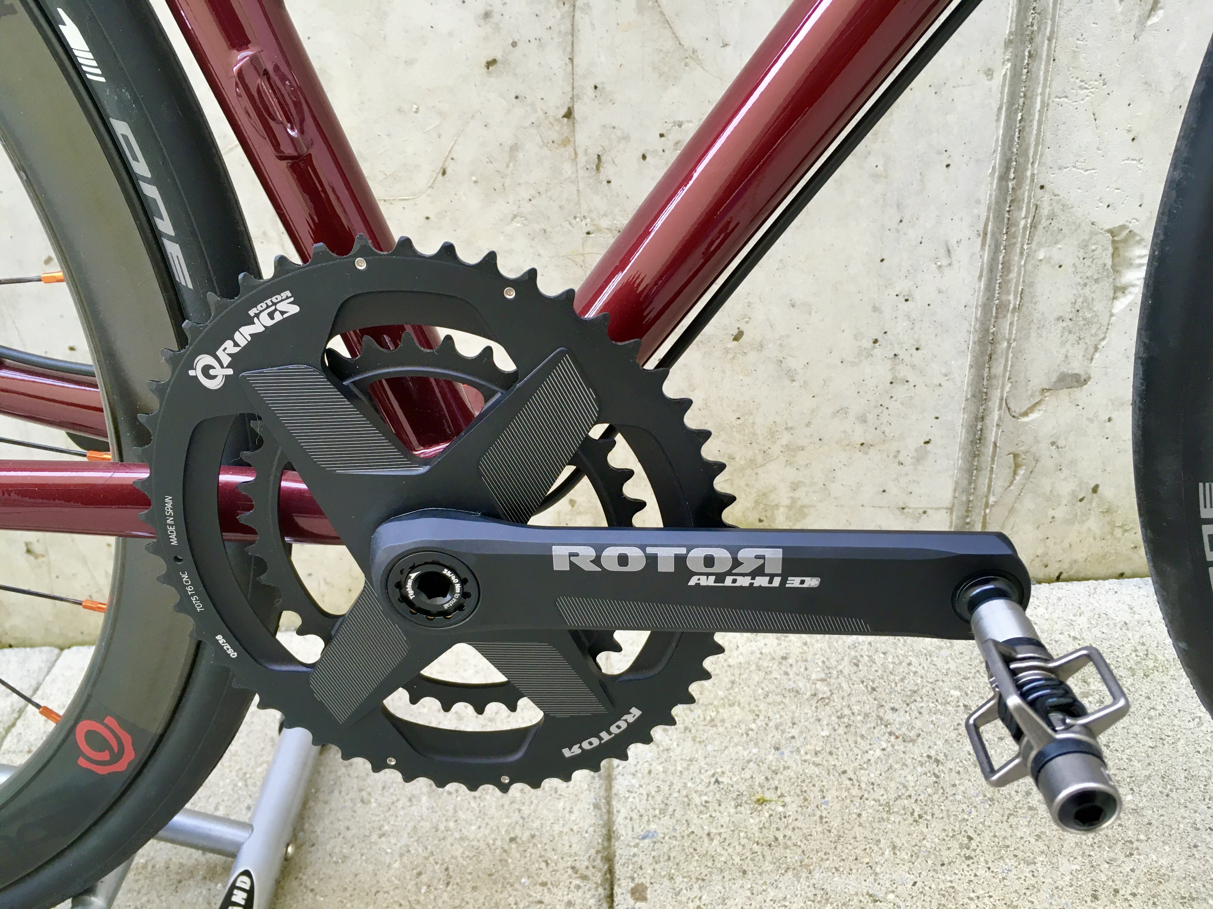 Rotor Q-Rings oval chainrings.