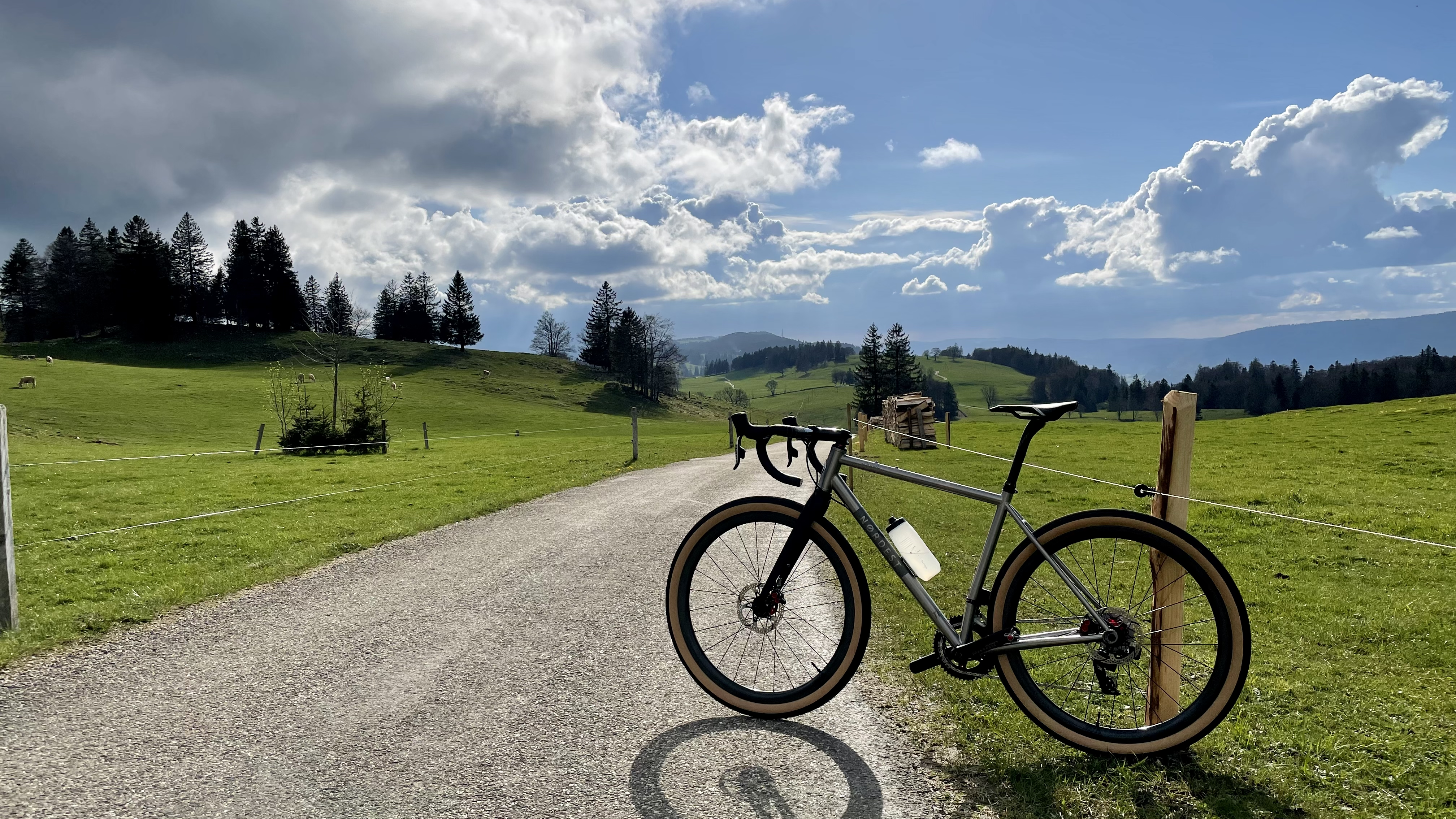 Evening ride to the Grenchenberg on May 12, 2021.
