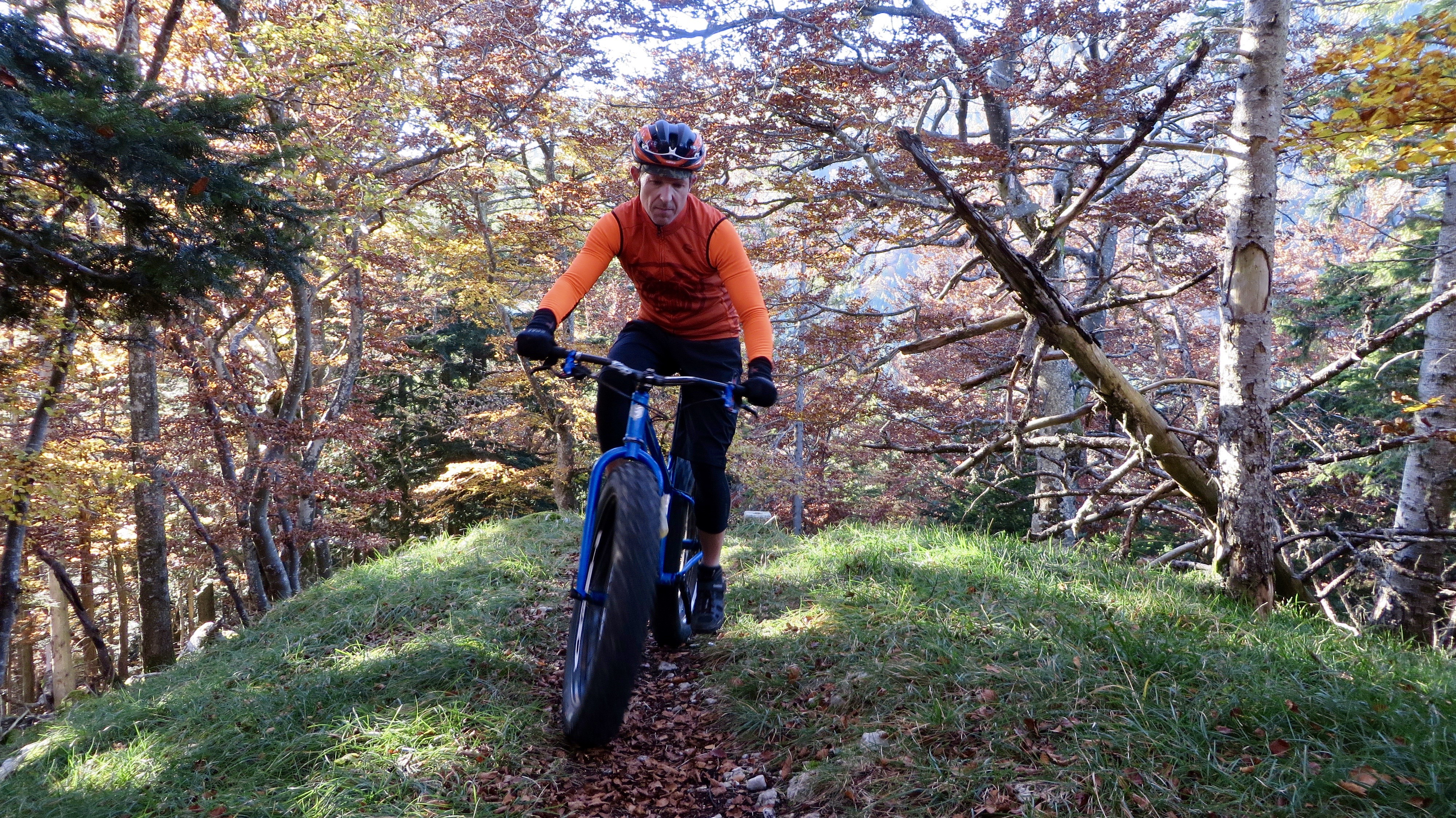 On the trail to Baulmes on October 30, 2016.